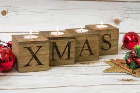 christmas home decor merry u0026 bright christmas candle holders