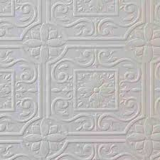 faux tin ceiling tile textured paintable wallpaper 148 59001