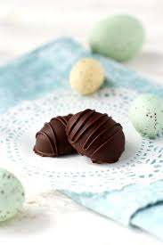 chocolate caramel easter eggs dairy free the pretty bee