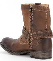 bed stu roan men s colton distressed leather boot in brown for