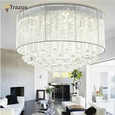 Kristall Len Modern Luxury Modern Ceiling Light With Glass Lshade Gold