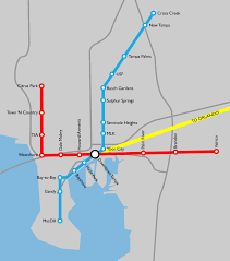 Tampa Airport Map If Tampa Could Have Any Public Transit System Tampa