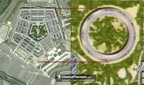 apple cupertino mothership vs pentagon size comparison obama