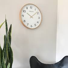 silent wall clocks larson silent wall clock 40cm by london clock company