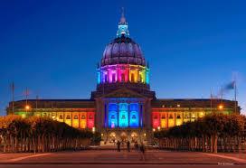 san francisco city s gorgeous rainbow lights pride 2017 sf