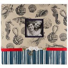 nautical photo album find the k company nautical scrapbook album at