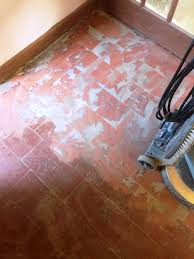 How To Remove Adhesive From Laminate Flooring Removing Glued Vinyl From Quarry Tiles Quarry Tiled Floors