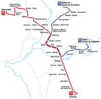 map of le mans le mans tramway