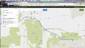 Google Maps Route Maker by Google Maps Trip Planner To Google Earth Kml Import Tutorial Youtube