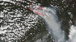 Canada Wildfire Satellite by Images From Space Show How Massive Canada U0027s Fort Mcmurray