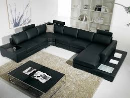 High End Leather Sectional Sofa Black Sectional Arabella Sectionals