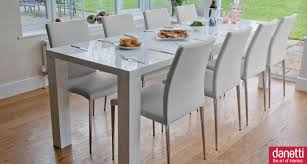 modern white dining room table decorating extendable dining tables for bigger dining room idea