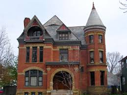 the j c peters mansion in the historic west central neighborhood