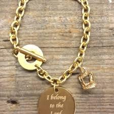 blessed bracelet blessed bling archive gold chain scripture charm bracelet
