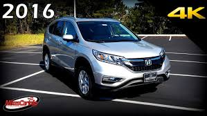 honda crv blue light 2016 honda cr v ex l in depth look in 4k