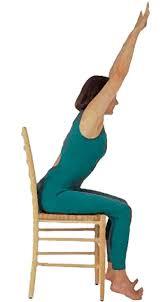 Armchair Yoga For Seniors New Chair Yoga Classes Being Offered At Ebacc Seniors Blue Book
