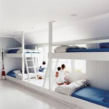 Four Bunk Bed Four White Bunk Beds From Maison Children S Rooms