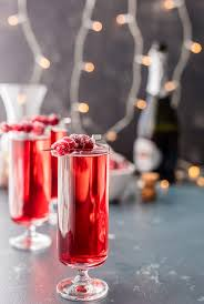 easy thanksgiving drinks sugared cranberry ginger mimosas the cookie rookie