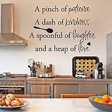 dining room wall decals amazon com inspirational wall sticker quotes words art removable