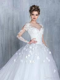 elegant white wedding dresses with lace cap sleeve empire waist