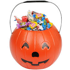 amazon com jack o lantern candy bucket clothing