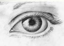 pencil drawing an eye crying drawing art u0026 skethes