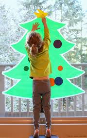 At Home Christmas Trees by Sticky Contact Paper Christmas Tree For Kids