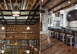contemporary kitchen light fixtures masculine custom manly kitchen decor black wood drawer tiered rich hardwood floor