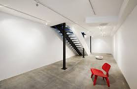 Basement Stairs Design Basement Staircase Of Clean And Contemporary House For Artist