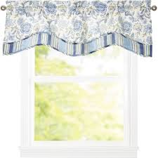 Yellow Valance Curtains Window Valances Café U0026 Kitchen Curtains You U0027ll Love Wayfair