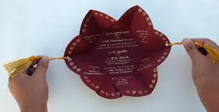 fancy indian wedding invitations history of wedding invitation cards in india