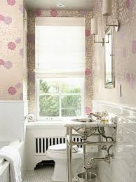 Wallpapered Bathrooms Ideas 25 Best Pink Small Bathrooms Ideas On Pinterest Dorm Bathroom