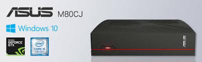 ordinateur asus de bureau achat asus m80cj fr004t noir ordinateur de bureau intel i5