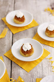 mini pineapple upside down cakes lulu the baker