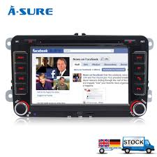aliexpress com buy a sure dvd 2 din gps radio player sat nav