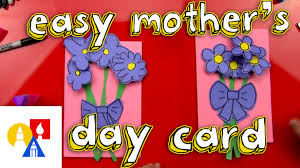 easy mother u0027s day card youtube