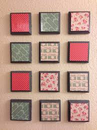 Inexpensive Wall Art by My Easy Diy Wall Art Project Inexpensive Wood Blocks From