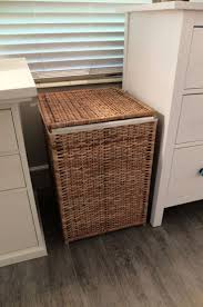 Cane Laundry Hamper by Laundry Room Ergonomic Woven Pattern Laundry Hamper With Lid