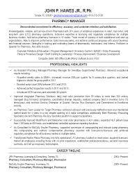 Example Pharmacist Resume by Resume For Pharmacist Resume For Your Job Application