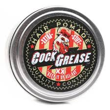 greaser hairstyle product cock grease xx hair pomade