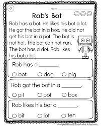 literacy worksheets for kindergarten worksheets