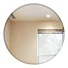 Frameless Molten Wall Mirror by Wall Mirrors Wall Mirrors For Bathroom Vanities 18 Inch Round