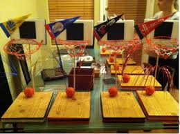 basketball centerpieces do it yourself basketball centerpiece kit completed party