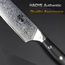 knives cooking knife 10 in authentique 8 inch damascus chef knife vg10 steel japanese high quality kitchen