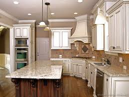 Ideas For Kitchen Cupboards Pictures Of Kitchens Traditional Two Tone Kitchen Cabinets