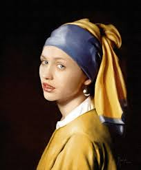 girl with a pearl earrings girl with a pearl earring by murciano deviantart on