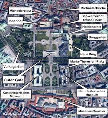 Map Of Vienna Google Satellite Map Of The Hofburg Palace Vienna Https