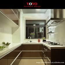 cuisine brun date design laqué brillant armoires de cuisine brun couleur