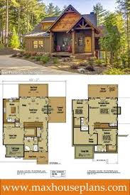 One Room Cottage Floor Plans Small Cottage Plan With Walkout Basement Rustic Cottage Cottage