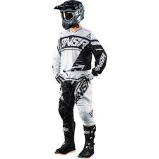 motocross riding gear combos answer 2018 syncron grey black gear combo at mxstore
